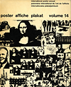 click to enlarge: Niggli, Arthur (editor) International Poster Annual / Panorama international de l'art de l'affiche / Internationales Plakatjahrbuch, 1969 / 70, volume/Band 14: poster affiche plakat.