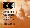 click to enlarge: Daniels, Jeffery (foreword) Utility Furniture and Fashion 1941 - 1951.