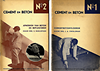 click to enlarge: Schuitema, Paul Cement en Beton, a complete set of 10 volumes.
