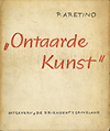 click to enlarge: Aretino, P. Ontaarde kunst.