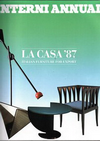 click to enlarge: Luukela, Arja / et al (editor) Interni Annual. La Casa '87. Italian furniture for export.