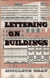 click to enlarge: Gray, Nicolette Lettering on Buildings.