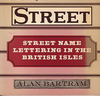 click to enlarge: Bartram, Alan Street name lettering in the british isles.