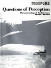 click to enlarge: Perez-Gomez, Alberto / Pallasmaa, Juhani / Holl, Steven Questions of Perception.