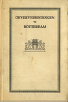 click to enlarge: Burgdorffer, A. C. Oeververbindingen te Rotterdam.
