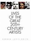 click to enlarge: Lucie-Smith, Edward Lives of the Great 20th-Century Artists.