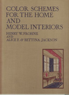 click to enlarge: Frohne, Henry W. / et al Color Schemes for the Home and Model Interiors.