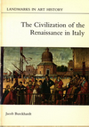 click to enlarge: Burckhardt, Jacob The Civilization of the Renaissance in Italy.